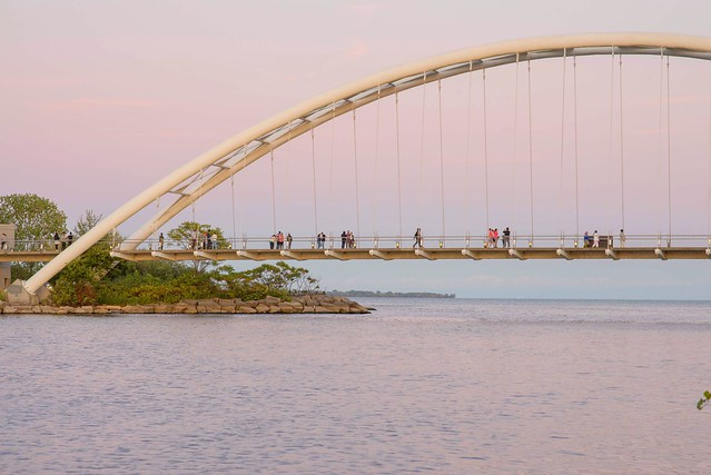 Humber Bay Arch Bridge,Toronto,ON
