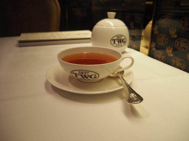 P9165187 TWG Tea SALON シンガポール Singapore アフタヌーンティー ひめごと