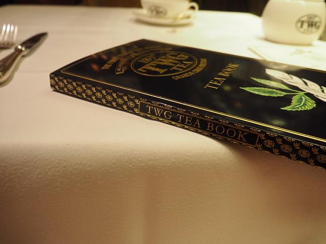 P9165186 TWG Tea SALON シンガポール Singapore アフタヌーンティー ひめごと