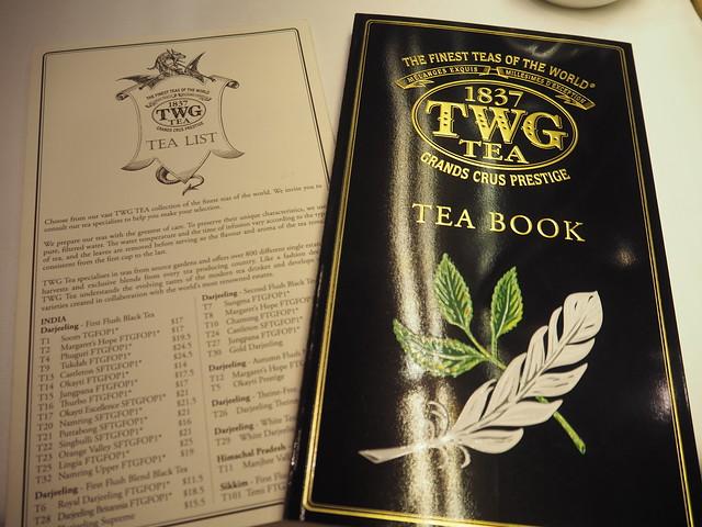 P9165184 TWG Tea SALON シンガポール Singapore アフタヌーンティー ひめごと