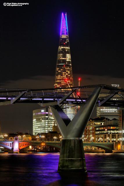 The Shard & Millennium Bridge