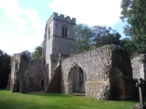 Old St. Lawrence's Church, Ayot St. Lawrence SWC 69 - Welwyn Garden City Circular