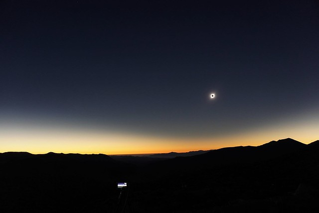 VCSE - Jónás Károly napfogyatkozásfotója - Kép: Jónás Károly