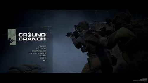 GROUND BRANCH - Game Screen