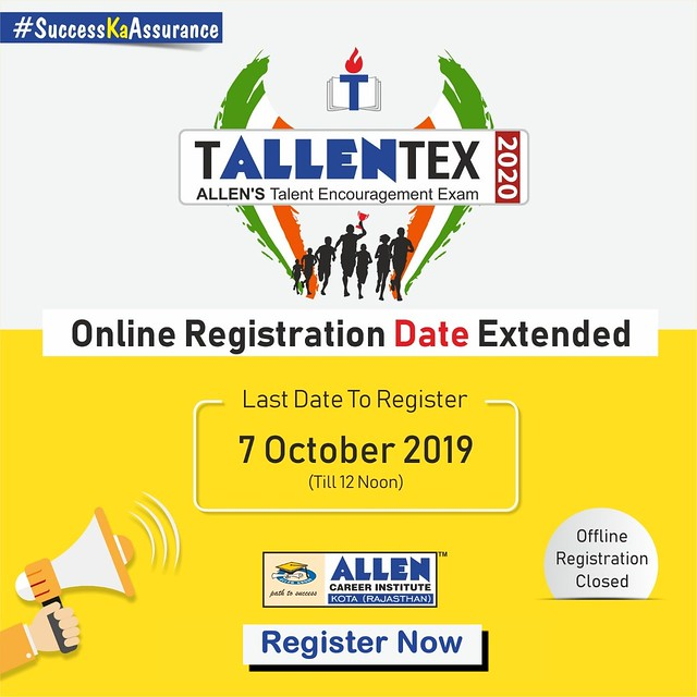 tallentex 2020 registration closes soon