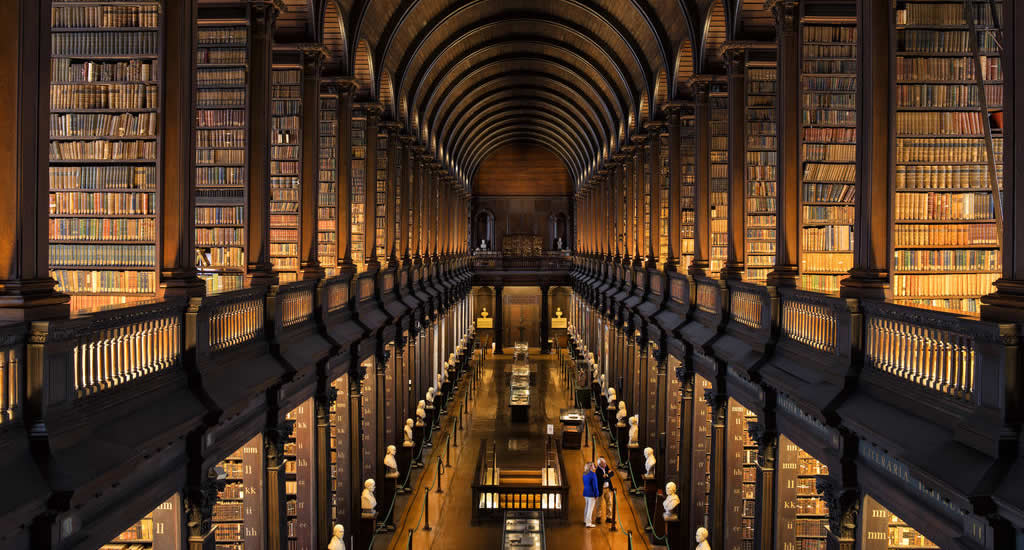 Trinity College en The Book of Kells | Mooistestedentrips.nl