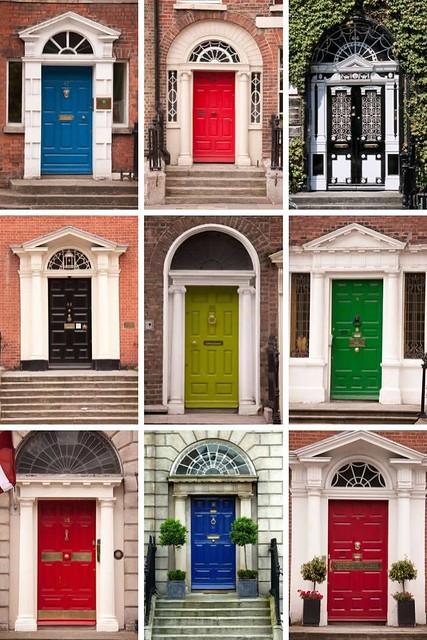 Deuren van Dublin, Dublin doors | Mooistestedentrips.nl