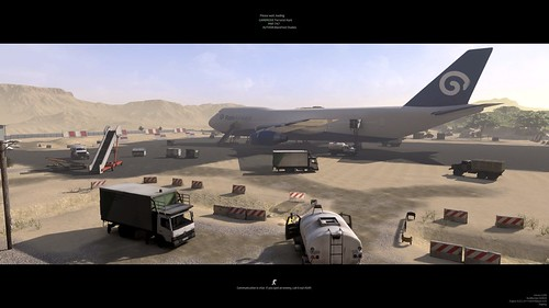 GROUND BRANCH - 747 Mission Screen