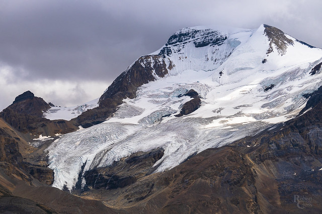 The Glaciers of Mount Athabasca