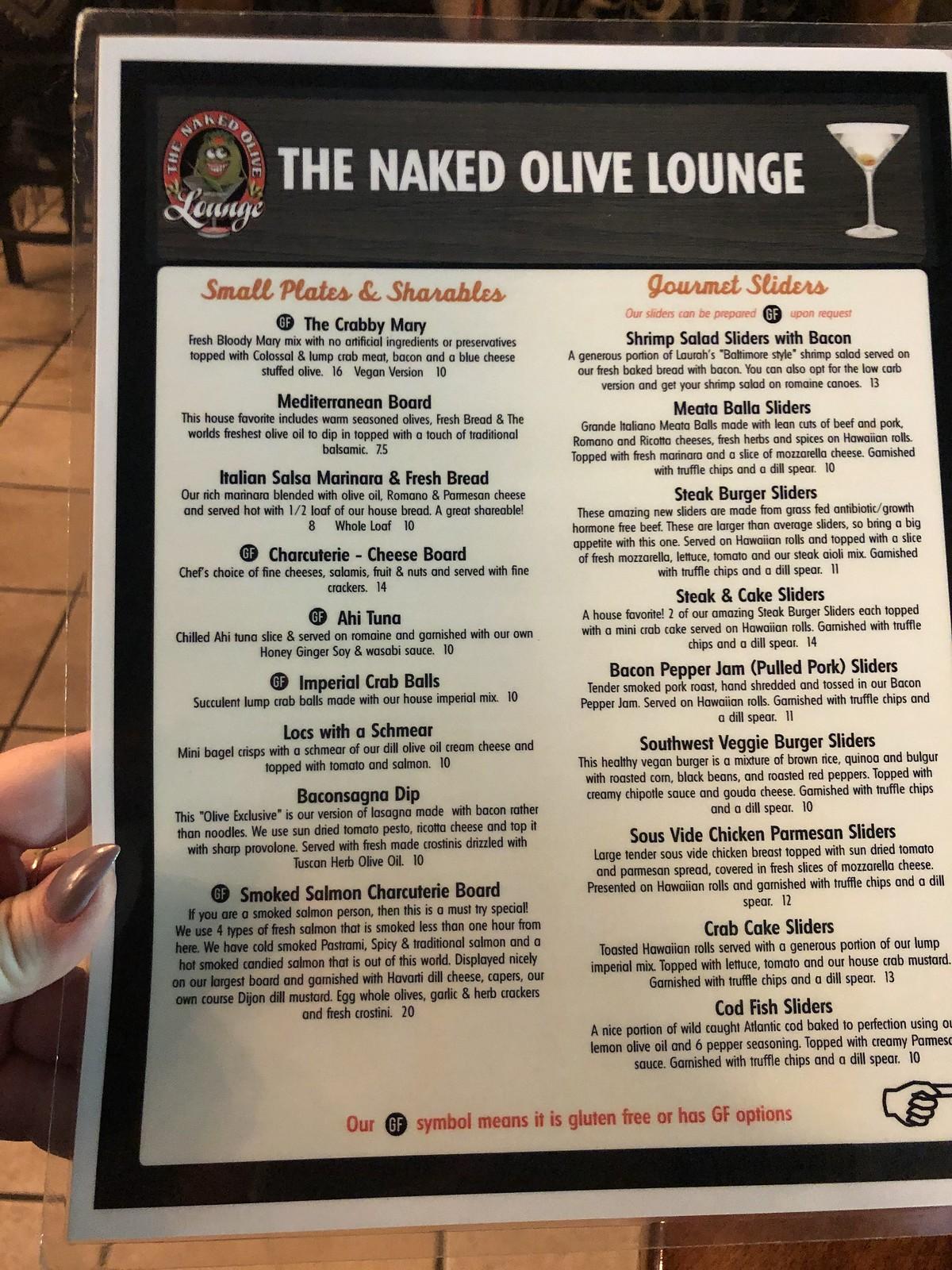 Naked Olive