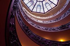 Escalera de Bramante, Vaticano