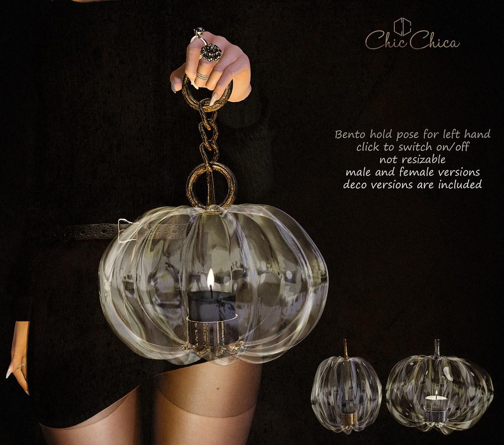 Pumpkin lantern by ChicChica @ Cosmopolitan