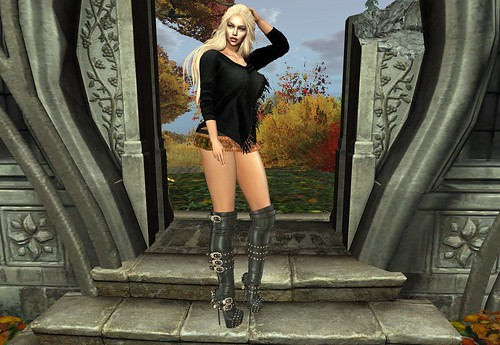 AHLURE FASHION AND LINGERIE CINNAMON OUTFIT@ MAD CIRCUS AND GACHA FAIR OCTOBER 5 TO OCTOBER 31, 2019