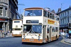 Mega Anorak posted a photo:	1978 Foden NC East Lancs H45/29DOne of only seven of this model to enter service, and the only one with an East Lancs body. The NC was not a commercial success due to problems with the transmission.
