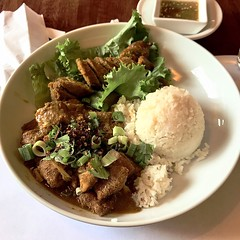 """Sticky Rice's"" Lunch Combo Special"