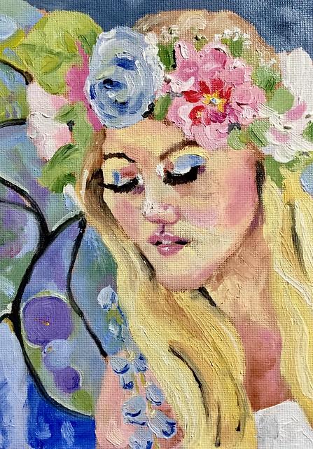 Oil Portrait Practice