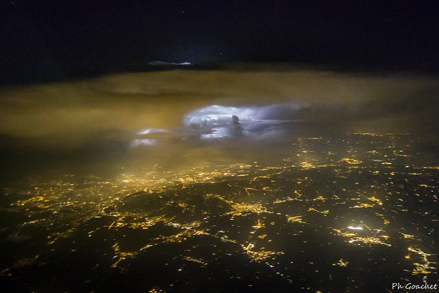 Thunderstorm approaching Turin.