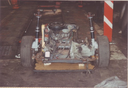 1992-05-30 Rear subframe, suspension and engine.1 | by Ronski-man