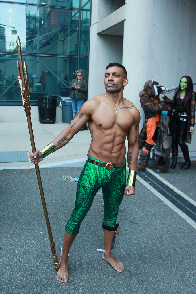 imperious - Namor cosplay at New York Comic Con 2019. To see