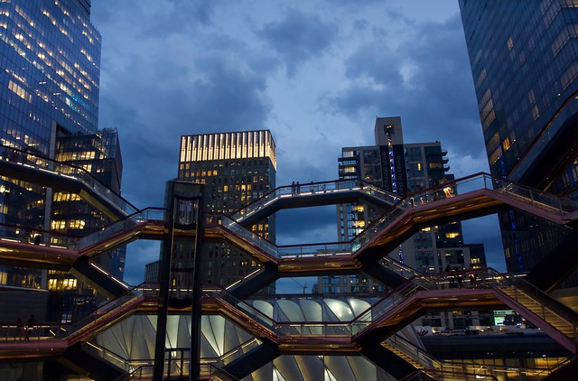 Vessel (skyline) - Hudson Yards, New York City