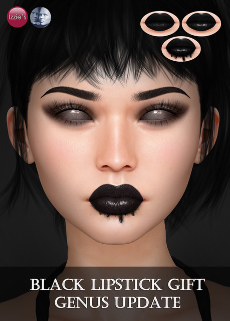 Black Lipstick Gift (Genus Update)