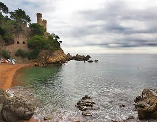 Castell d'en Plaja. Lloret de Mar.