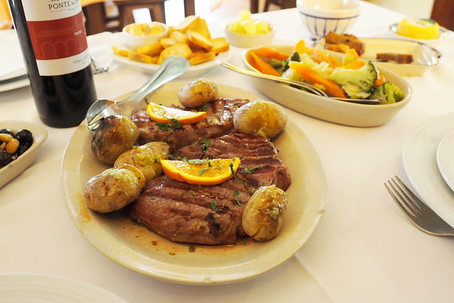 Cachena steak, north Portugal