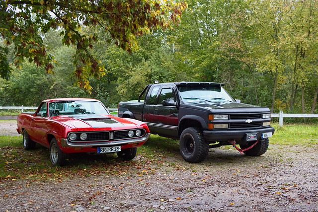 Ford Rancero und Chevrolet c1500