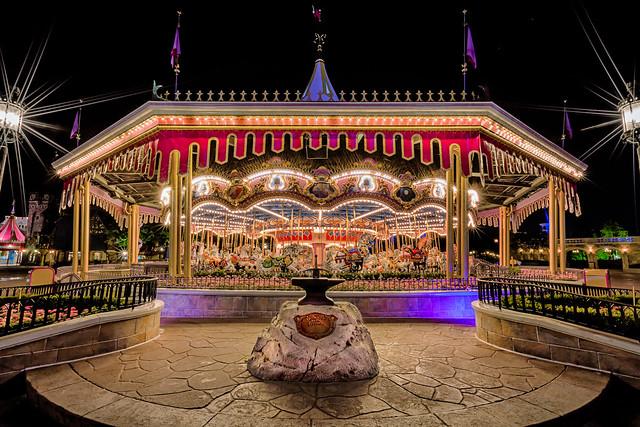 Carousel at the Magic Kingdom