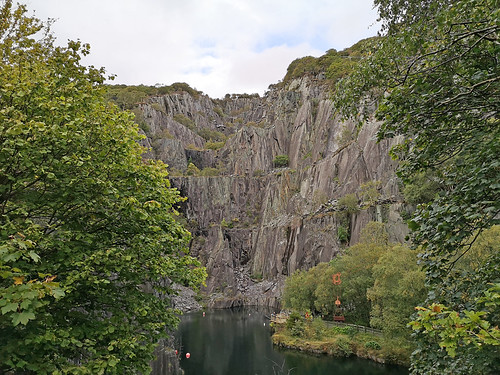 Llanberis quarry pool