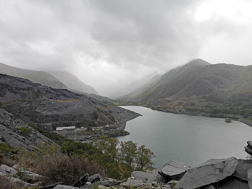 View from Llanberis Quarry