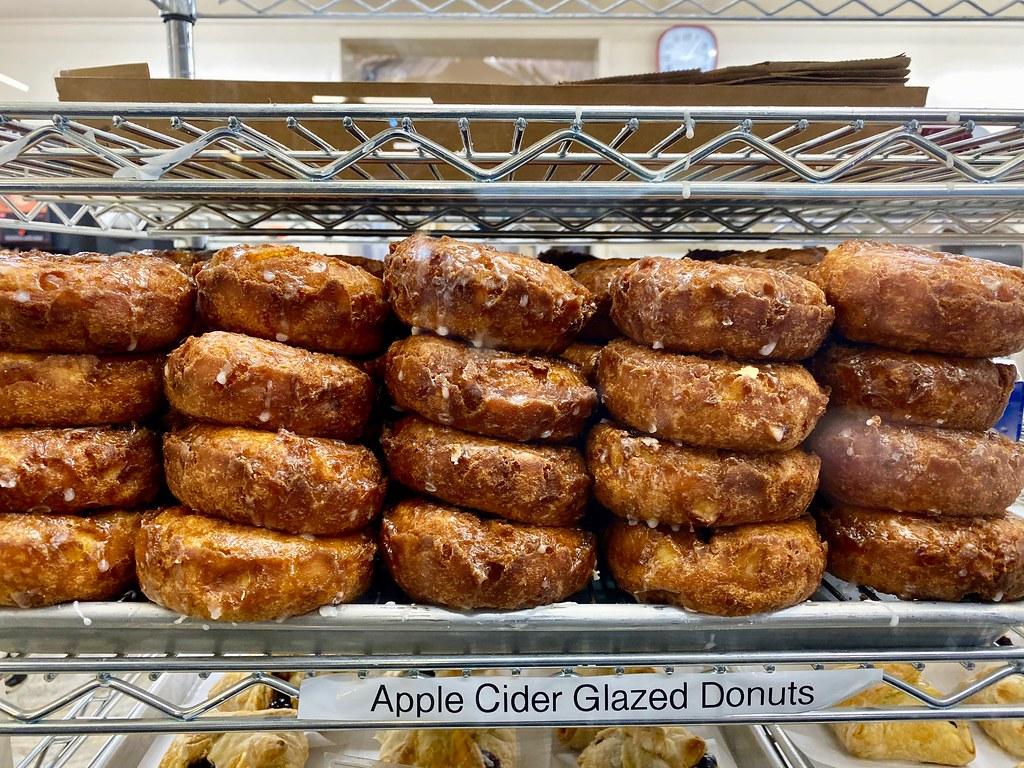 Boa Vista glazed apple cider donuts