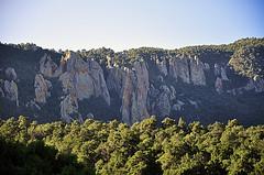 Basin Landforms - Chisos Mountains