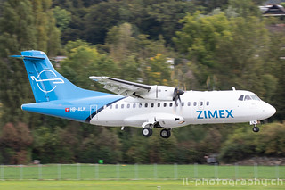 ATR 42-500, HB-ALN, Zimex Aviation