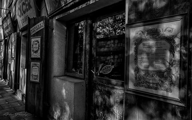 Shop fronts in the Jewish Quarter  - Krakow