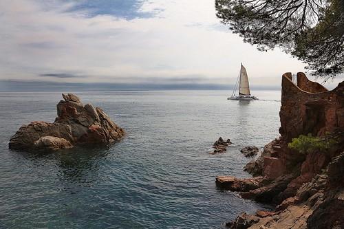 Cala Es Frares. Lloret de Mar.