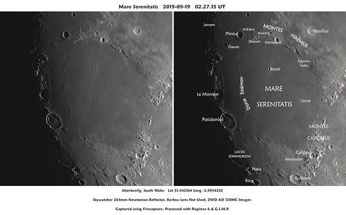 Mare Serenitatis 2019-09-19  02:27:15 UT