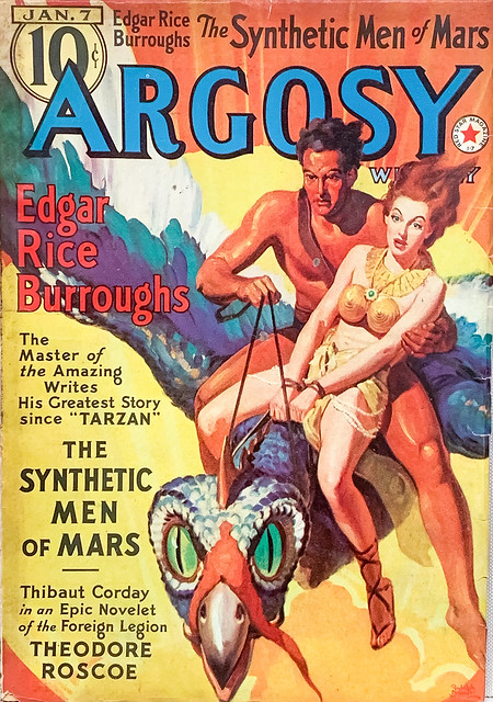 Argosy Weekly, Vol. 287, No.3  (Jan. 7, 1939). Cover by Rudolph Belarski