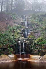 Waterfall, The Italian Lake, Rivington