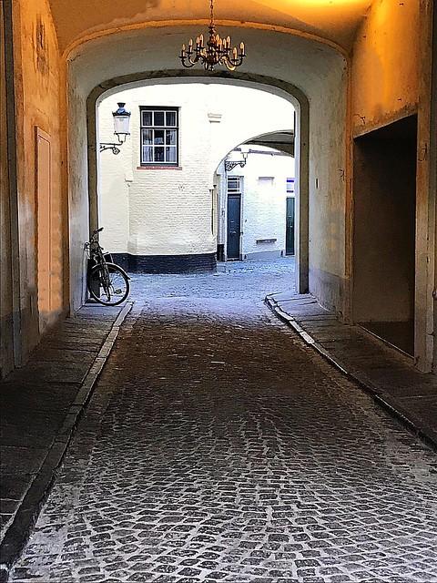 Bruges Chandelier Alley