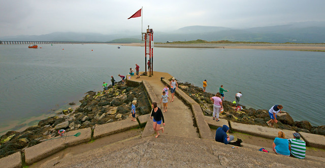 Barmouth Harbour Entrance
