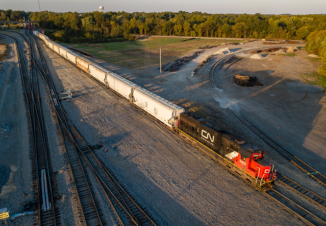 Canadian National CN 5400 (SD60) Fulton, Kentucky