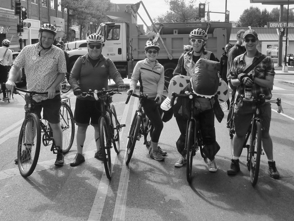 the #BikeDC crew