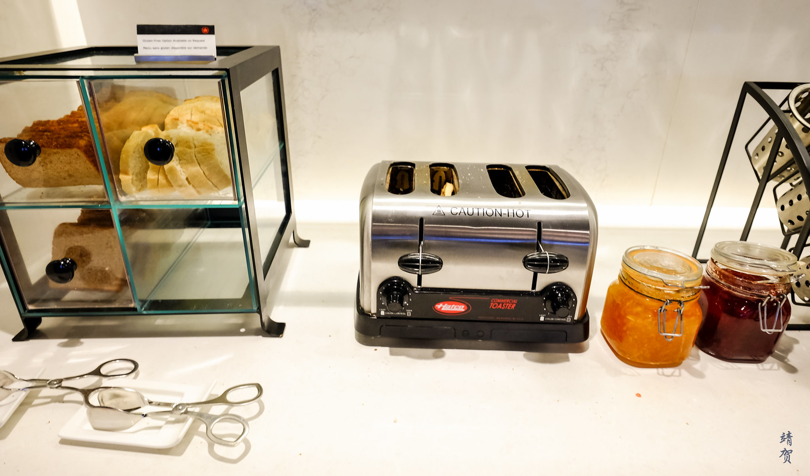 Bread and toaster