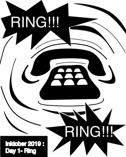 Inktober 2019 - Day 1 - Ring