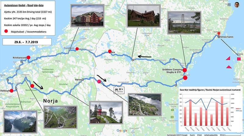 Realistisen Optimistin Juttuja Norjan Autoilun Reitti