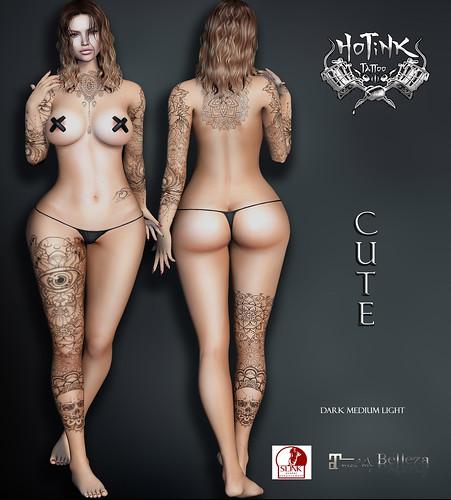 HoTiNK Tattoo CUTE