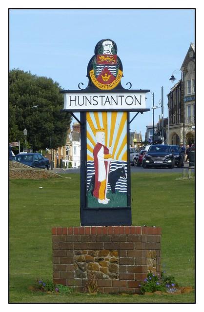 Town Sign, Hunstanton, Norfolk