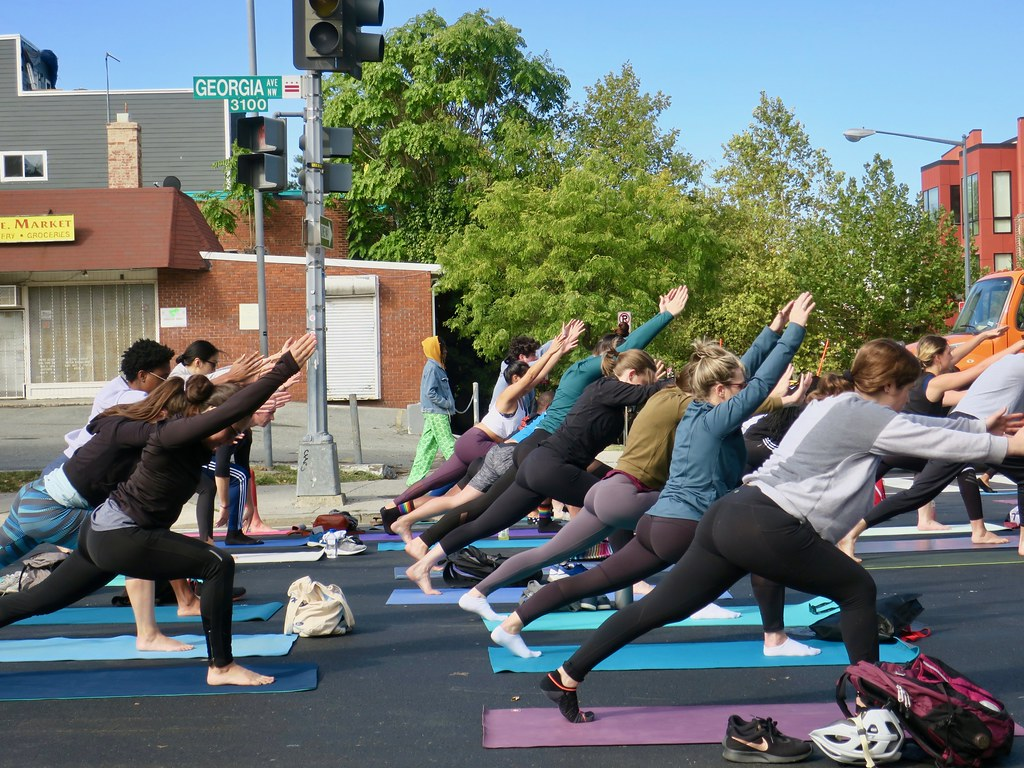yoga on Georgia Avenue