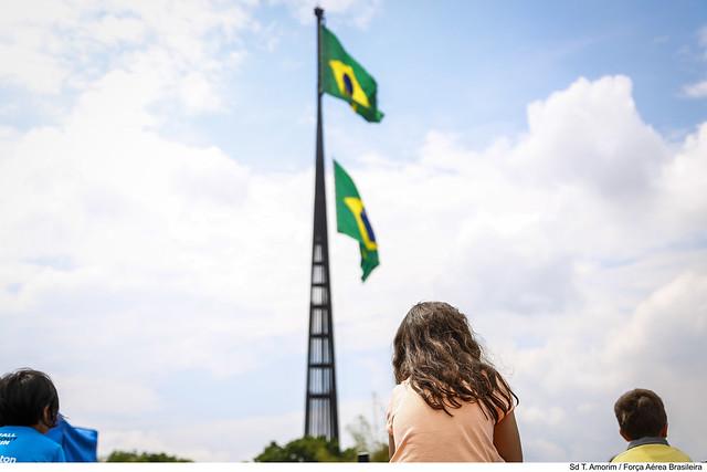 06/10/2019 Solenidade de Substituição da Bandeira Nacional